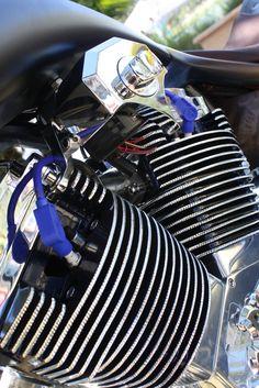 TP 124 Engine - CerberUS ProStreet Chopper by Art In Motion LLC Custom Motorcycles