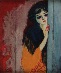 Painting by Kees Van Dongen (1877-1968), 1911, oil on canvas, Centre Pompidou, Paris.