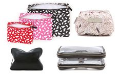 Our selection of cosmetic bags