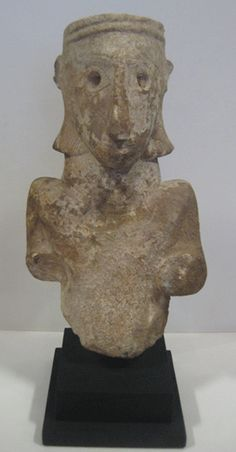 Sabean Limestone Idol of the Lady of ad-Dali - Origin: Yemen Circa: 100 BC to 100 AD Dimensions: high Collection: Biblical Antiquities Medium: Alabaster Horn Of Africa, Arabian Art, Ancient Near East, Phoenician, Ancient Egypt, Civilization, Lion Sculpture, African, Statue