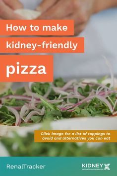 Common pizza ingredients have a great amount of sodium, potassium, protein and phosphorus. But, there are kidney-friendly alternatives you can use. Click the image for tips on how to make pizza on a renal diet. Foods To Eat, Diet Foods, Diet Pizza, Renal Diet, Pizza Ingredients, Food Swap, Kidney Health, How To Make Pizza, Green Beans