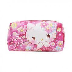 bb1a6d8a7f5 Sanrio Hello Kitty Floral Dreams Cosmetic Pouch (◕ᴥ◕) Kawaii Panda - Making  Life Cuter