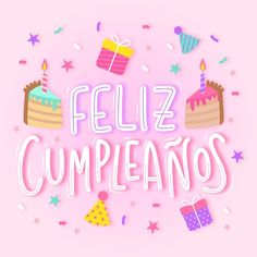 Happy Birthday In Spanish, Happy Belated Birthday, Happy Birthday Greetings, Birthday Pictures, Birthday Images, Birthday Party At Park, Birthday Wishes Messages, Bday Cards, Happy B Day