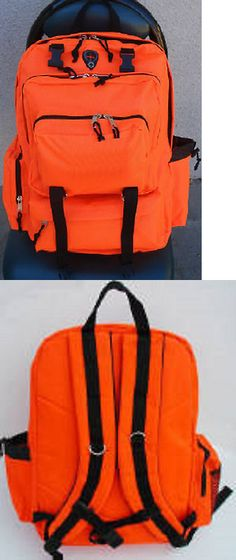 Day Packs 87122  Blaze Neon Safety Orange Hunting Hiking School Camping  Fishing Day Backpack -  BUY IT NOW ONLY   43.69 on eBay! fe3ff4ffb5