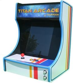 Gameroom Designs is giving away a Bartop Arcade System! | Bartop arcade building | Scoop.it
