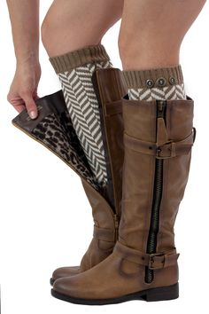 Chevron Leg Warmers Womens Knit with 3 Buttons By Modern Boho (Brown). BEST QUALITY AND 100% GUARANTEED! ♥ ♥ ♥ Buy Risk Free! Our product is backed by our 90 Day Money Back Guarantee. Modern Boho (TM) is a premium brand sold only by Modern Boho (TM). Warranty only valid when purchased Modern Boho (TM). Comes in our exclusive branded packaging. TRENDY AND COMFY! ♥ ♥ ♥ Create Pin worthy outfits! Snuggling on the couch never looked this good, or was this cozy either!. KEEP THEM BEAUTIFUL ♥ ♥…