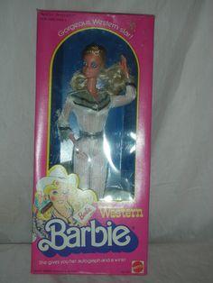 PJ barbie 1980s - Had this one, her eye blinked lol