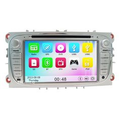 Two Din 7 Inch Car DVD Player For FORD/Mondeo/S-MAX/C-MAX/Galaxy/FOCUS 2008 2009 2010 2011 Car radio stereo Navi bluetooth 3G