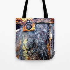 9afa6b4f5b70 Buy meEtIng wiTh IrOn no24 Tote Bag by piaschneider. Worldwide shipping  available at Society6.