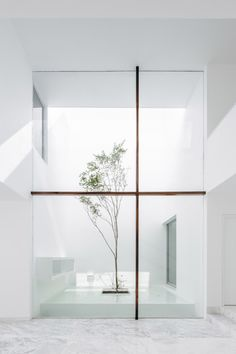 "thisispaper: "" Harmonious courtyard house in Mexico by Abraham Cota Paredes Arquitectos """