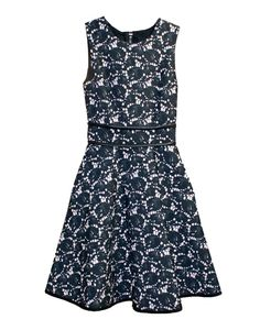 Cynthia Rowley - Sleeveless Bonded Dress with Full Skirt - Dresses