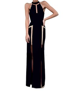 MESH PANEL MAXI DRESS - LUMIER 1 WINTER 2013 : Dresses-Maxi : Bariano - Fashion Designer Australia - I just bought this for Miss Universe Aus!! Sooooo excited!!