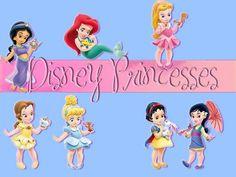 Little Disney Princesses - disney-princess Wallpaper
