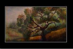 peinture mixte ,artiste peintre  Feghir Chafika.
