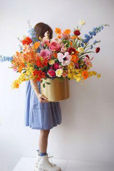 Beautiful Flower Arrangements, Fresh Flowers, Floral Arrangements, Beautiful Flowers, Design Floral, Deco Floral, Arte Floral, Cut Flower Garden, Flower Farm