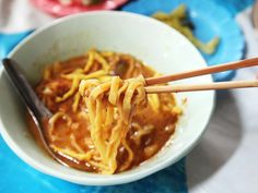 Khao soi: THE must-have dish in Chiang Mai, Thailand.