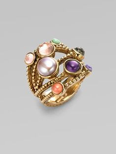 Stephen Dweck - cluster ring