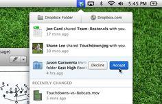 Dropbox 2.0 disponibile