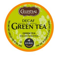 Keurig K-Cup: Decaf Green Tea