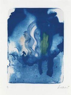 HELEN FRANKENTHALER  Reflections V, 1995