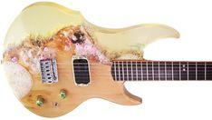 Chitara Bendis Aqua by Criman Guitars, Aqua, Music Instruments, Collection, Water, Musical Instruments, Guitar
