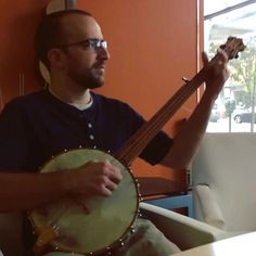 Lance Baker kind enought to play test my 3rd Banjo. B3-2014. All cherry wood. With wonderful J. D. Balch goatskin head. Yellow heart tailpiece and bridge. Ebony pegs. Upholstery tacks for nut. Nygut strings. hand rolled brass tension hoop. Thanks Lance. Yall give a listen