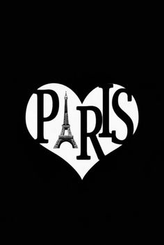 Paris in Black and White / Heart