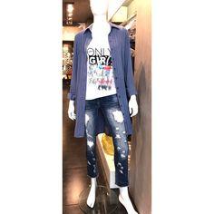 Super casual look by Primadonna collection S/S 2017 !!! Πουκαμίσα 56,90 € Μπλουζάκι 29,90 € Παντελόνι 54,90 € Παραγγελίες στο inbox και στο τηλέφωνο 2610314770. www.primadonna.com.gr Casual Look, Denim, Jackets, Fashion, Down Jackets, Moda, Fashion Styles, Fashion Illustrations, Jacket