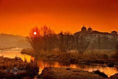Spectacular Places: Neajlov Delta in Comana, Romania Exotic Places, Eastern Europe, Romania, Monument Valley, Sunrise, Beautiful Places, Places To Visit, Explore, Landscape