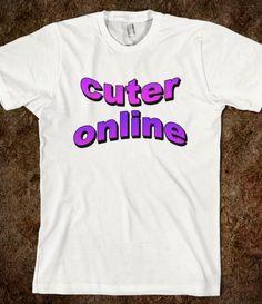 Cuter Online #cute #sassy #purple #tumblr #hipster #grunge #goth #pastel #fashion #internet