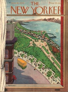 The New Yorker  cover June 10, 1944  by  Christina Malman