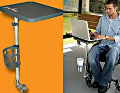 Multi Use Tray For Wheelchairs And Walkers