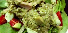 Gluten Free Bone Suckin' Avocado Tuna Salad Recipe