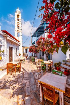 Kampos, Tinos, Greece Al Fresco Dining, Greece Travel, Tinos Greece, Explore, Building, Pictures, Greece, Photos, Buildings