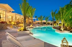 Main Pool at Eden Roc at Cap Cana in the Dominican Republic where @5staralliance guests receive a $100 food and beverage credit; a bottle of Champagne; and a fresh fruit platter welcome amenity. Also, subject to availability at the time of check-in: upgrade, early check-in, and late check-out.