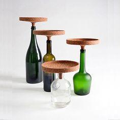 Cork bottle display thingys