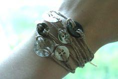 button bracelet, careycreates.blogspot.com