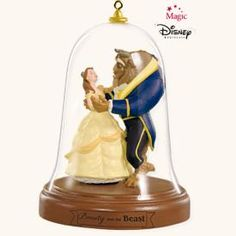 2008 DISNEY - A MAGICAL NIGHT - BELLE HALLMARK ORNAMENTS - BEAUTY AND THE BEAST - TREE ORNAMENT