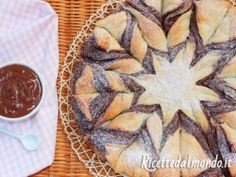 Fiore di Pasta Sfoglia alla Nutella