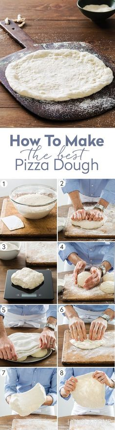 Get the steps to make the best pizza dough on our website on now! | Photographer: Donna Griffith | Stylist: Ashley Denton
