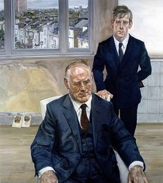 Lucian Freud Father and Son