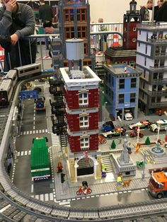 LEGO World Copenhagen 2015. And no, this is not a hint that there may be another Ghostbusters set coming - it's a model built by one of the LEGO designers for the show. Such a tease... :)   Flickr - Photo Sharing!