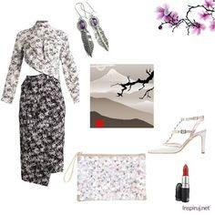 Stylizacje dnia z Inspiruj.net - Orientalnie - z modnymi wycięciami - KobietaMag.pl Black And White, Polyvore, Image, Fashion, Black White, Moda, Black N White, Fashion Styles, Fashion Illustrations