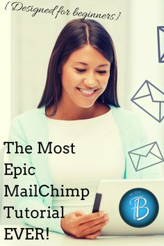 Everything you need to know to get going on MailChimp including intermediate and advanced tips, but written for beginners. Grow your business on automatically Marketing Website, Marketing Direct, Marketing Digital, Online Marketing, Internet Marketing, Affiliate Marketing, Inbound Marketing, Email Marketing Strategy, Content Marketing
