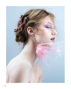 Photography: Jingna Zhang. Styled by: Shea Daspin. Hair: Linh Nguyen. Makeup: Roshar. Model: Madison Moehling at Fusion NYC.