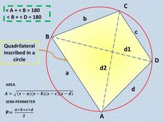 Learn how to solve problems involving Quadrilaterals in Plane Geometry. It contains formulas, calculator techniques, descriptions, and properties needed in order to interpret and solve Quadrilateral problems. Quadrilateral, Trigonometry, Engineering Boards, Area Formula, Differential Calculus, Plane Geometry, Pythagorean Theorem, Area And Perimeter, Board Exam