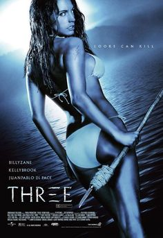 "2005's ""Three"" aka ""Survival Island"" - Bad movie but Kelly Brook is in it :)"