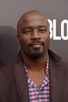 """Mike Colter, who plays Luke Cage in the Marvel show """"Luke Cage,"""" said that the Netflix show will be very different from """"Jessica Jones. Gorgeous Black Men, Beautiful Men, Mike Colter, African American Actors, Black Male Models, Marvel Show, Luke Cage, Jessica Jones, Girl Crushes"""