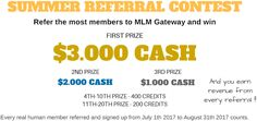 MLM Gateway wants to give you CASH