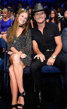 Tim McGraw and Faith Hill are one of country music's cutest couples, but at the 2016 CMT Music Aw...